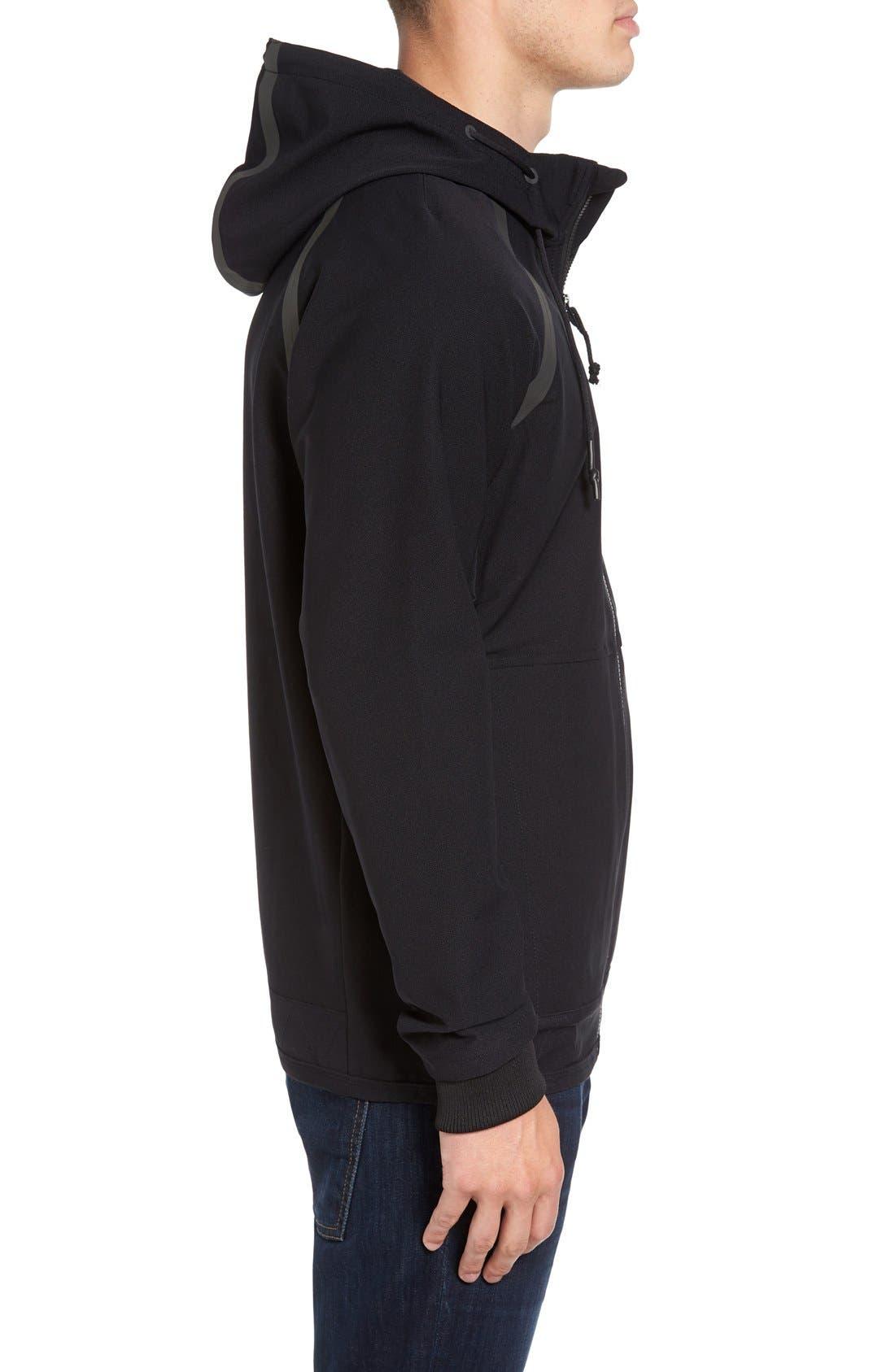 Alternate Image 3  - RVCA Sport Grappler Hooded Jacket