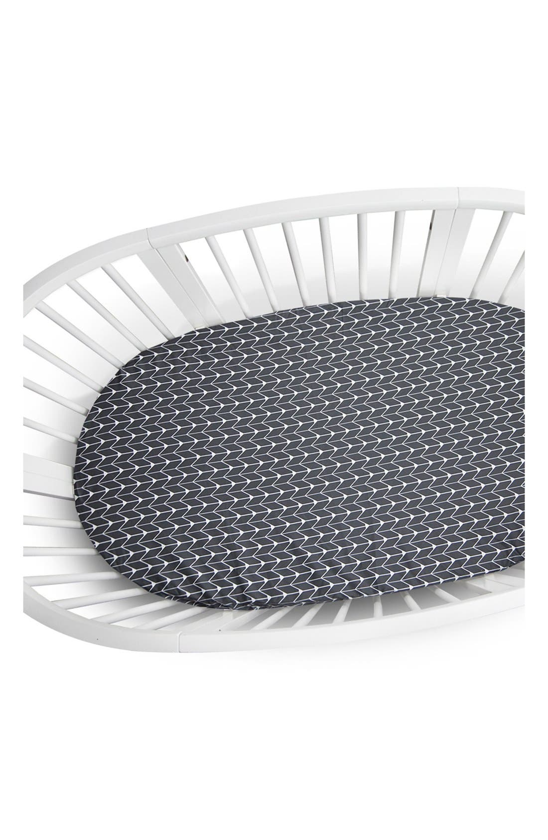 Oilo 300 Thread Count Crib Sheet for Stokke Sleepi Crib