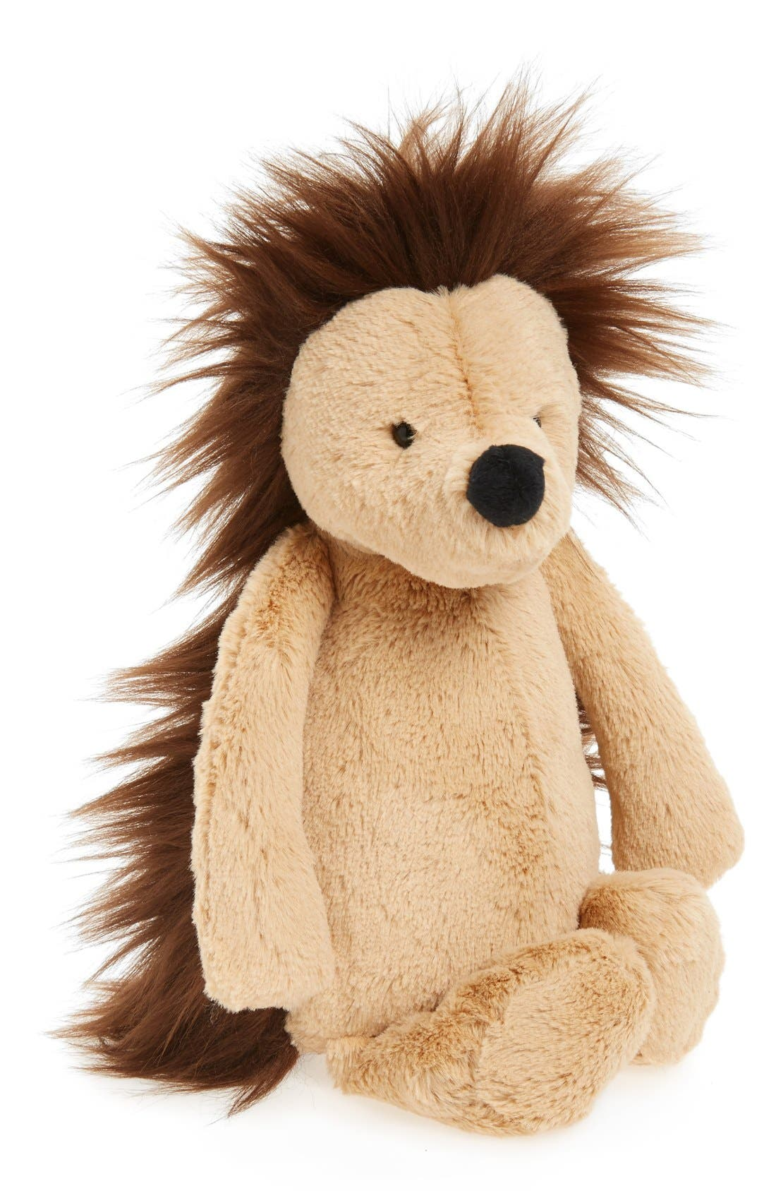 Medium Bashful Hedgehog Stuffed Animal,                         Main,                         color, Tan