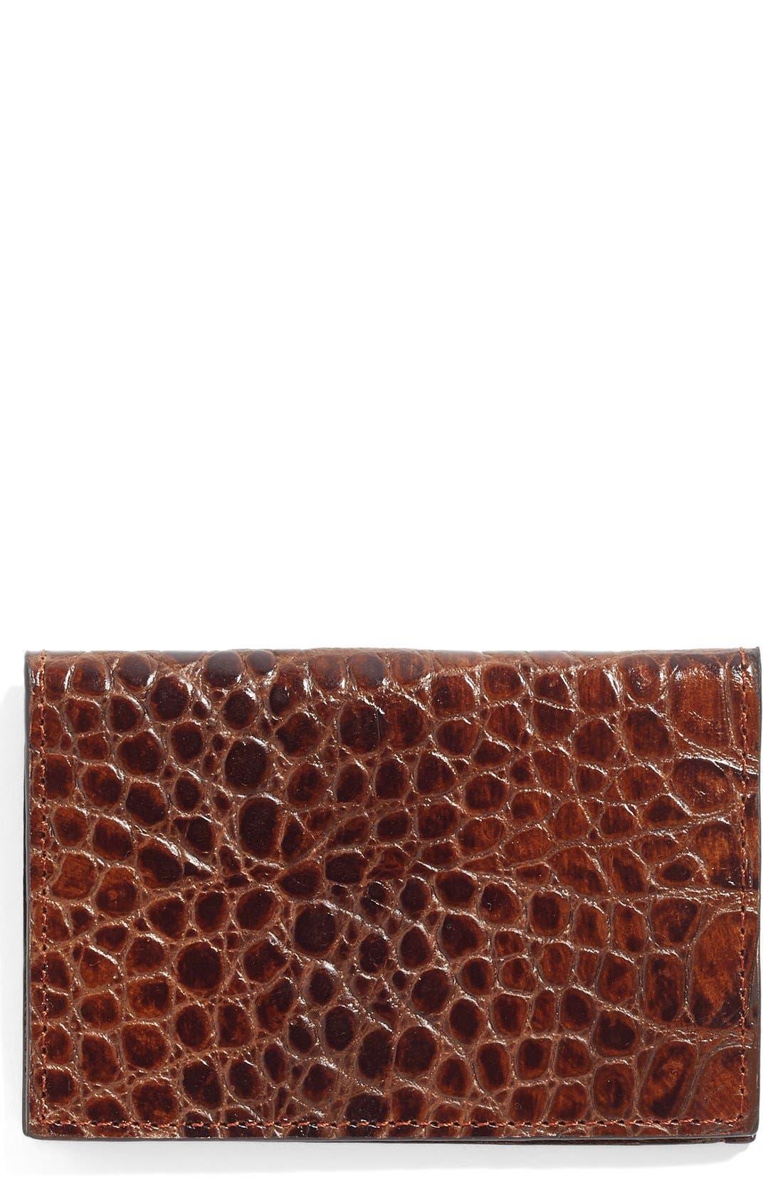 Alternate Image 1 Selected - Martin Dingman Leather Card Case