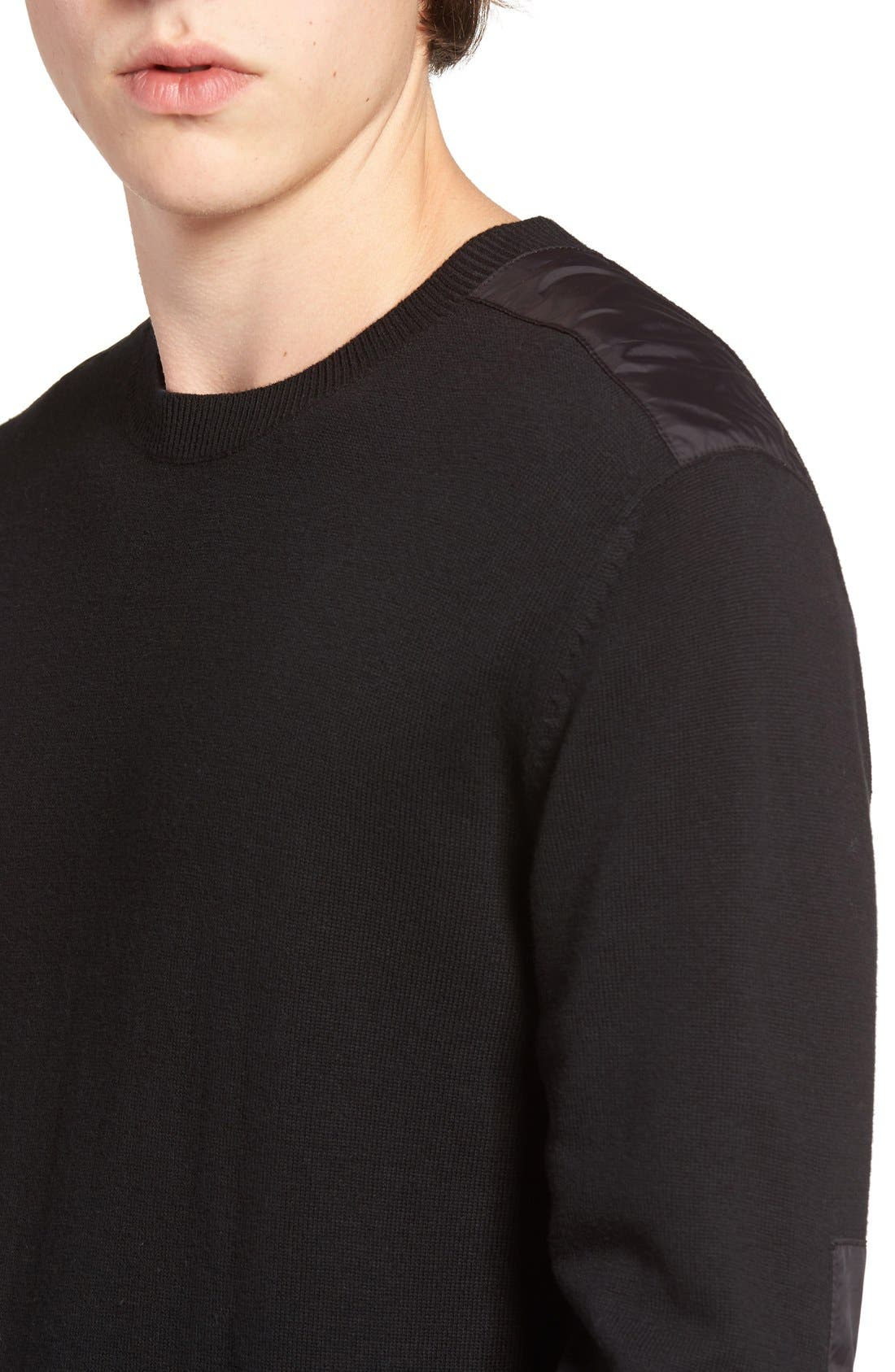 Alternate Image 4  - French Connection Nylon Trim Pullover