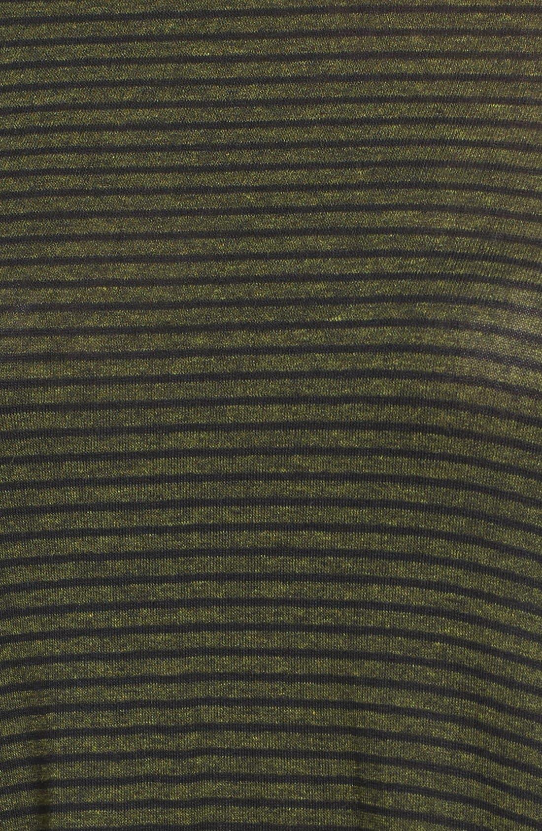 Alternate Image 5  - Lush Stripe Cold Shoulder Top