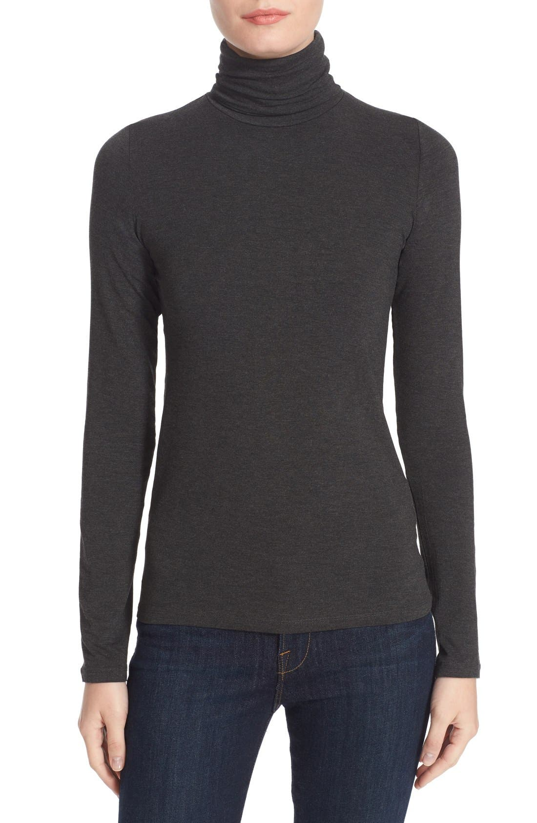 Turtleneck,                         Main,                         color, Anthracite