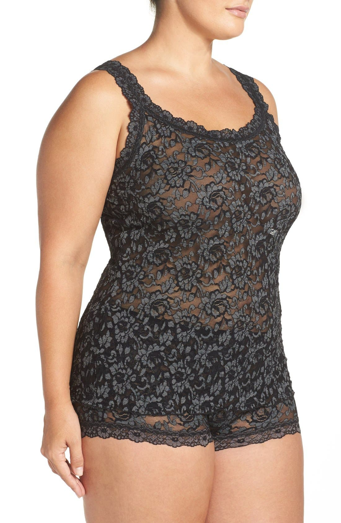Alternate Image 3  - Hanky Panky Lace Camisole (Plus Size)