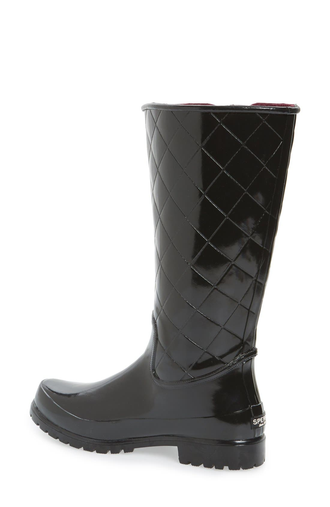 Alternate Image 2  - Sperry Top-Sider® 'Pelican' Tall Rain Boot (Women)