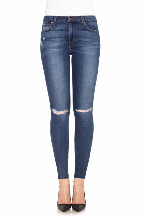 Joe's 'Icon' Ripped Ankle Skinny Jeans (Terri) by JOES