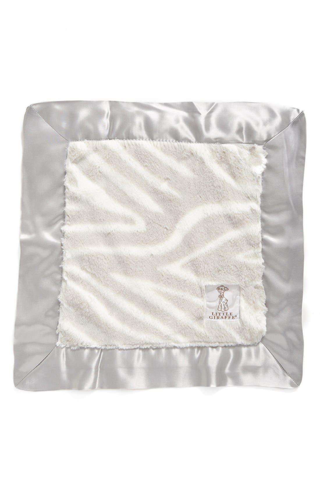 Alternate Image 1 Selected - Little Giraffe Luxe™ Zebra Blanky