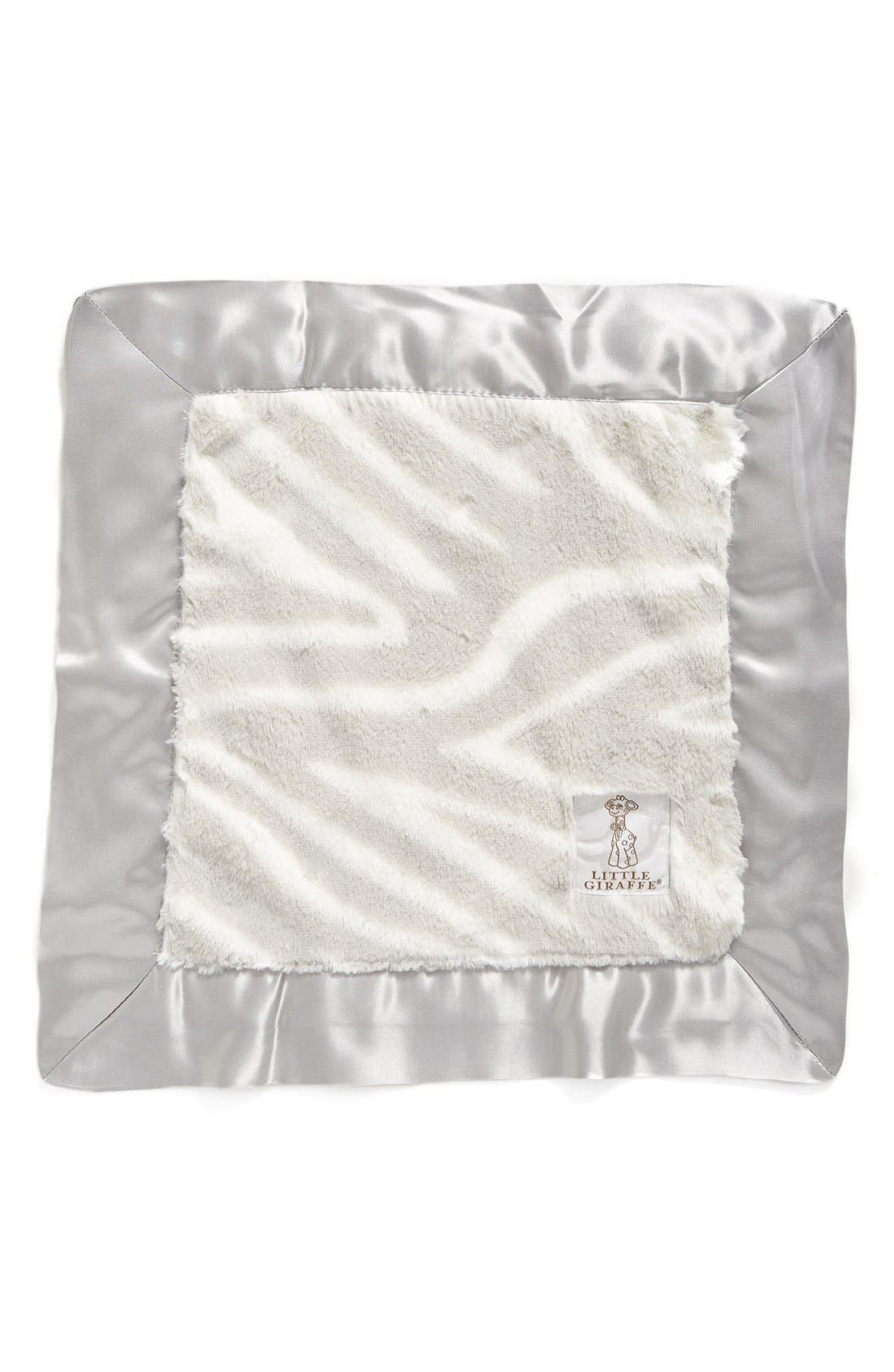 Luxe<sup>™</sup> Zebra Blanky,                         Main,                         color, Silver
