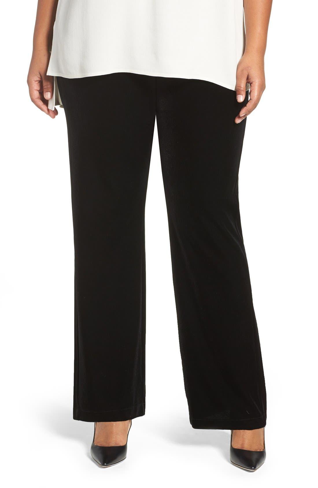 Lyssé Velvet Pants (Plus Size)