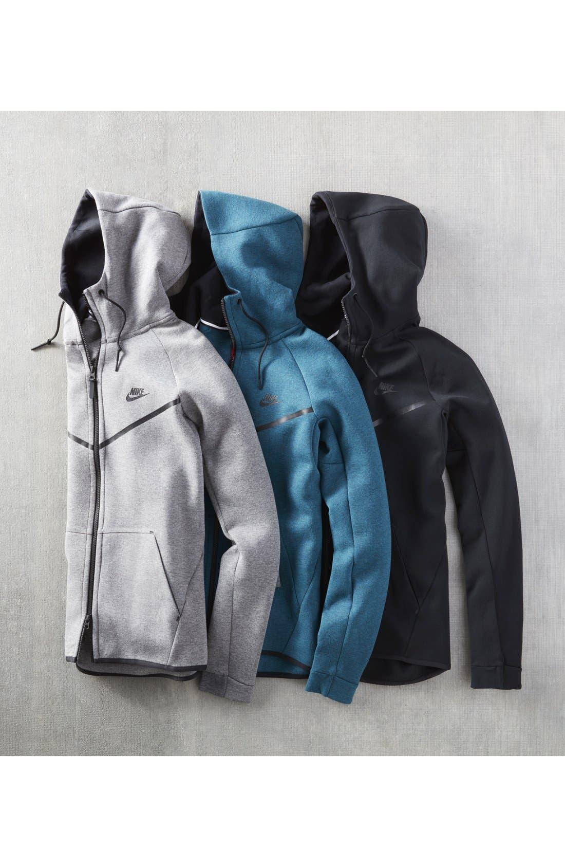 Alternate Image 9  - Nike 'Windrunner' Tech Fleece Hoodie