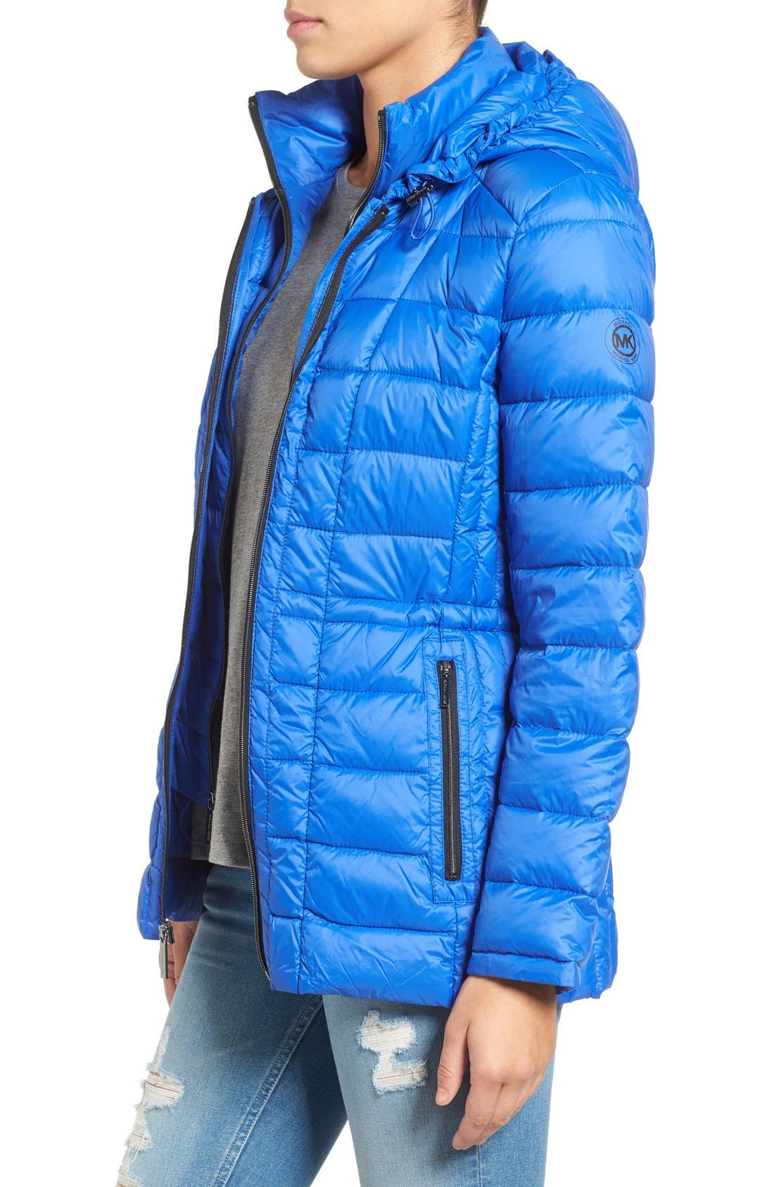 Alternate Image 3  - MICHAEL Michael Kors Quilted Down Jacket