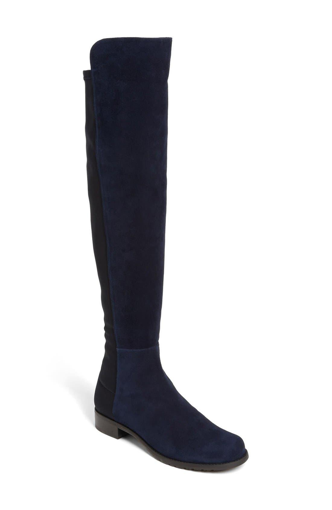 Main Image - Stuart Weitzman 5050 Over the Knee Leather Boot (Women)