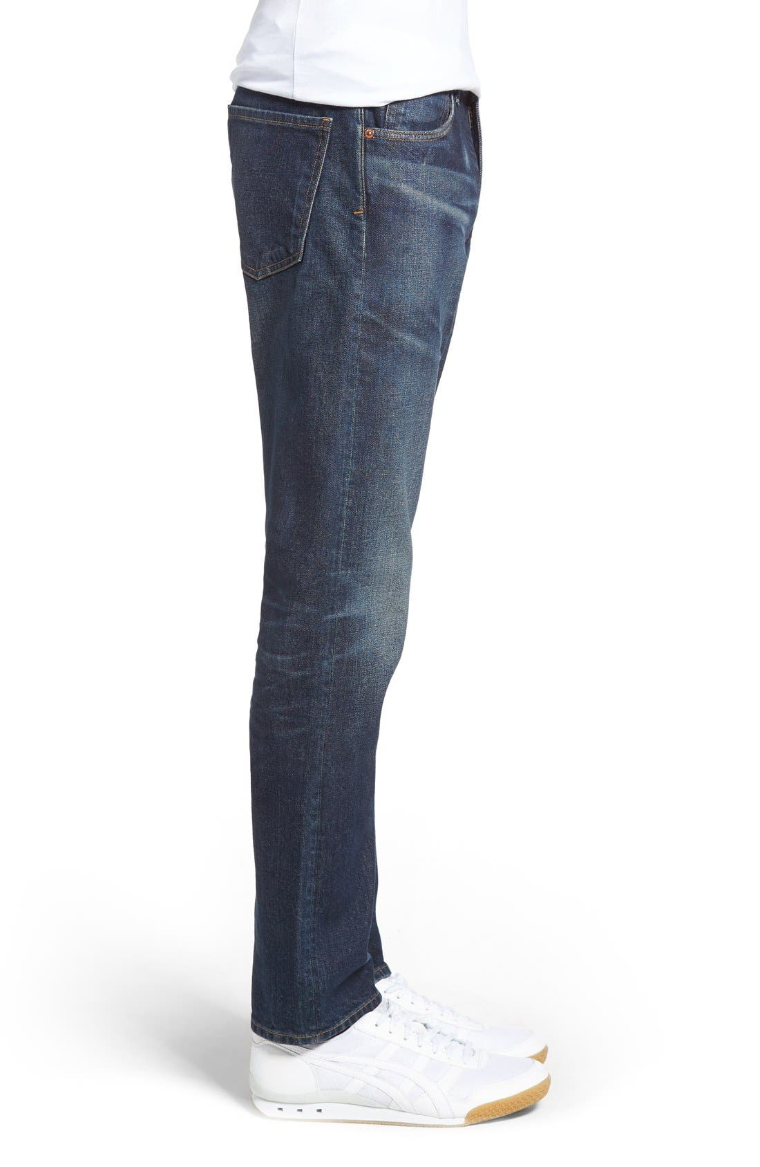 Bowery Slim Fit Jeans,                             Alternate thumbnail 3, color,                             Hesperia