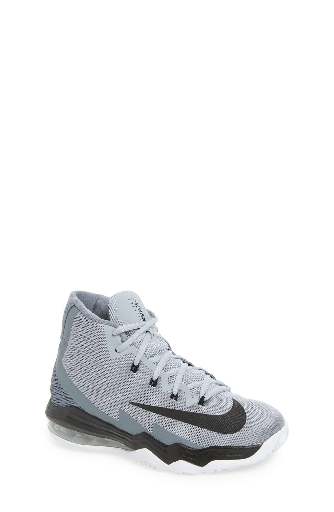 Main Image - Nike Air Max Audacity 2016 Basketball Shoe (Big Kid)