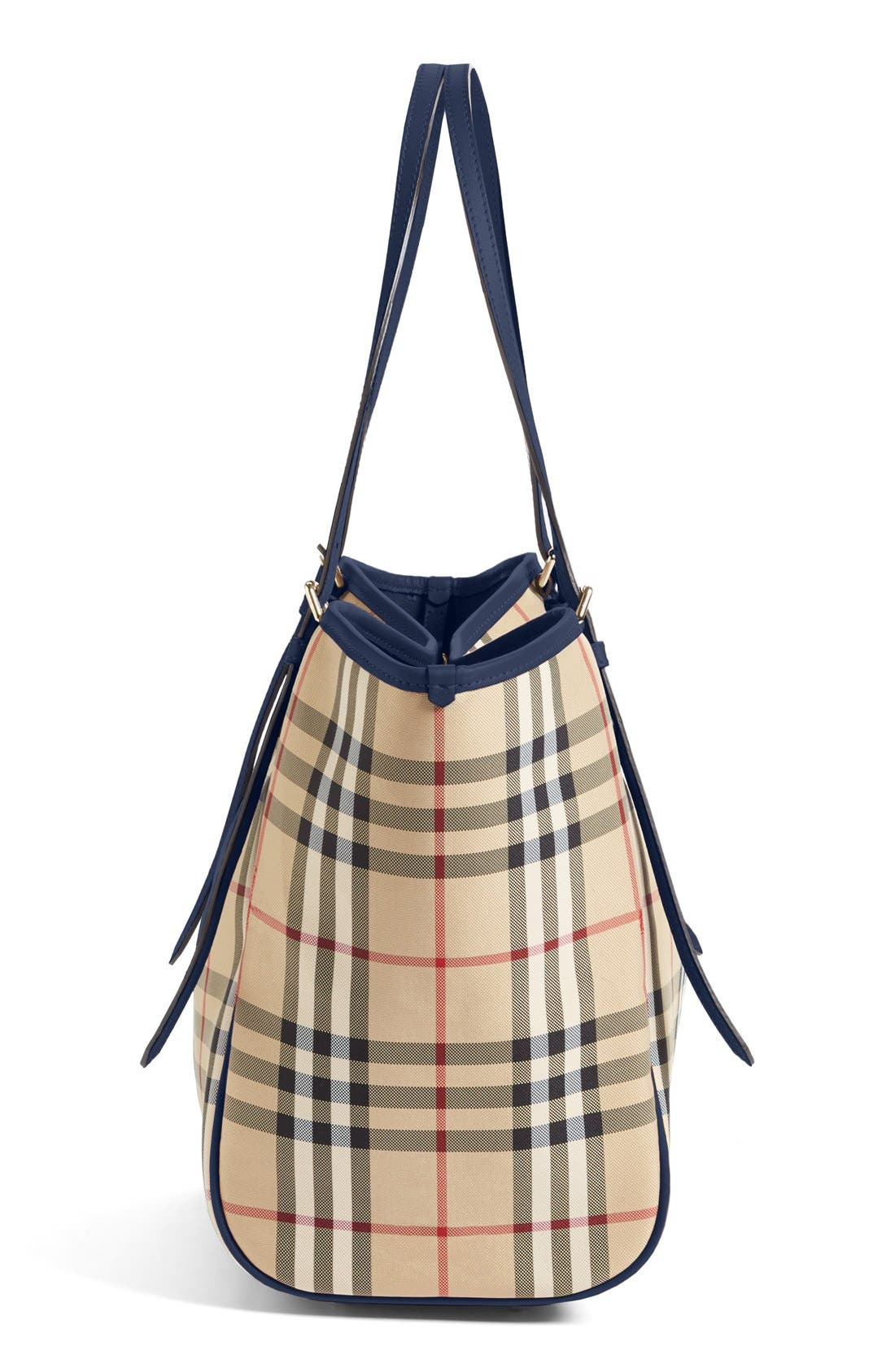 Alternate Image 5  - Burberry Small Canter Horseferry Check Tote
