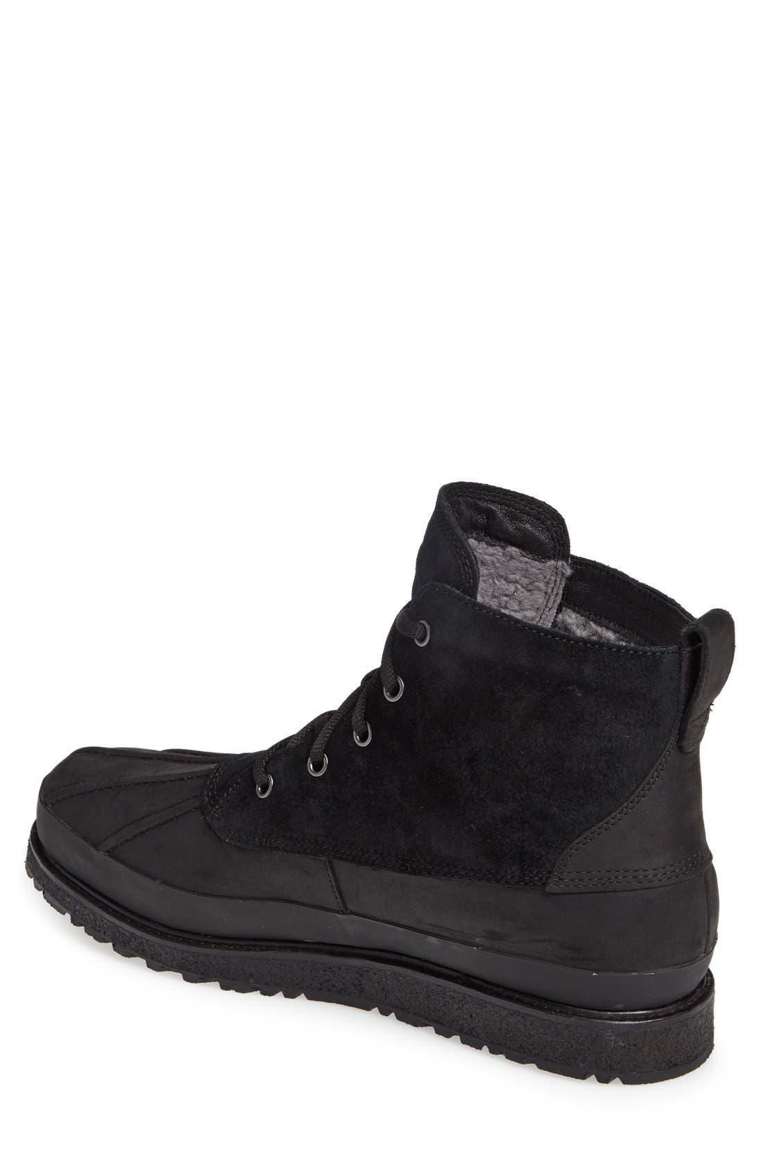 Fairbanks Waterproof Boot,                             Alternate thumbnail 2, color,                             Black