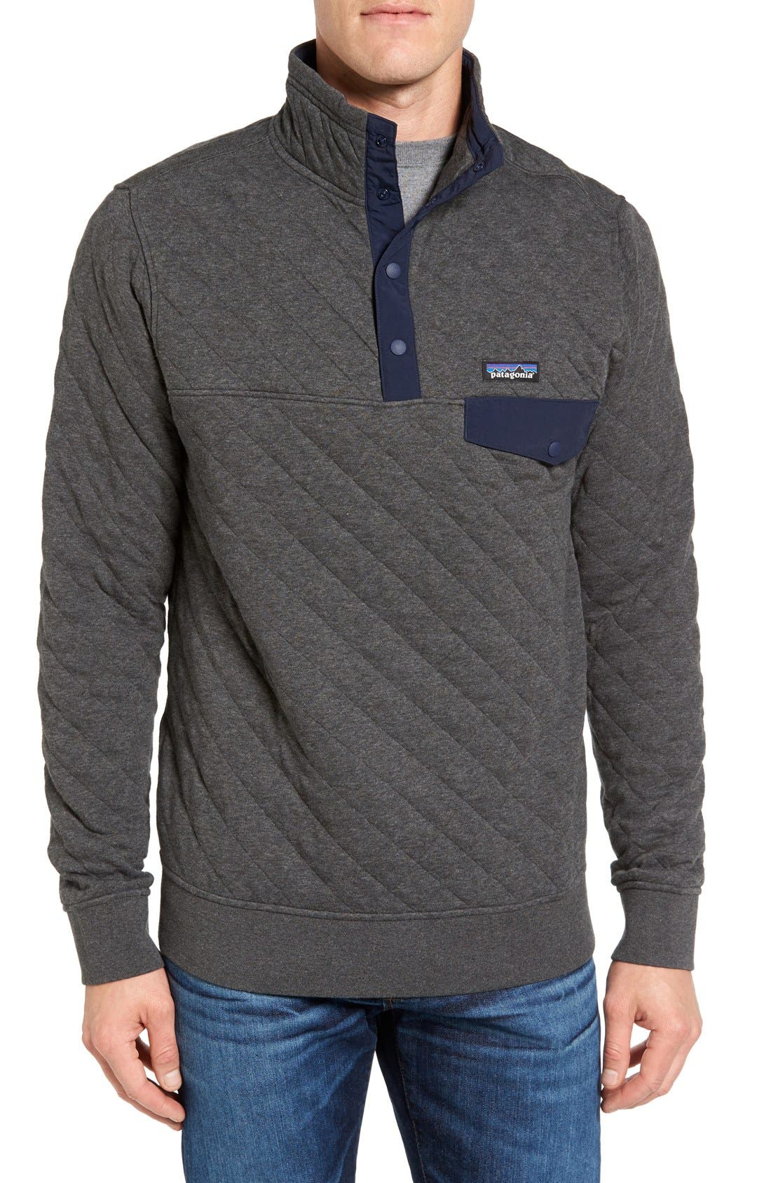 Patagonia Snap-T Quilted Fleece Pullover