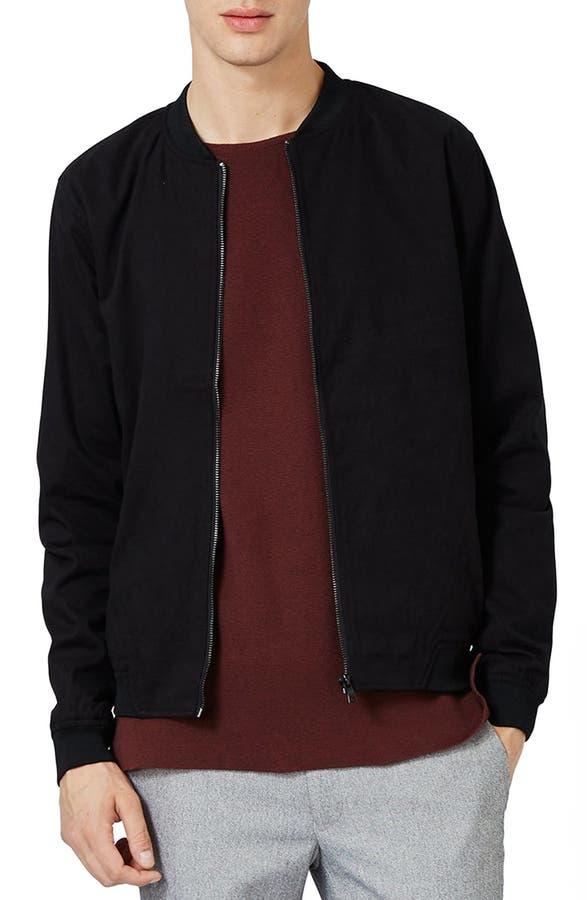 Topman Cotton Bomber Jacket | Nordstrom
