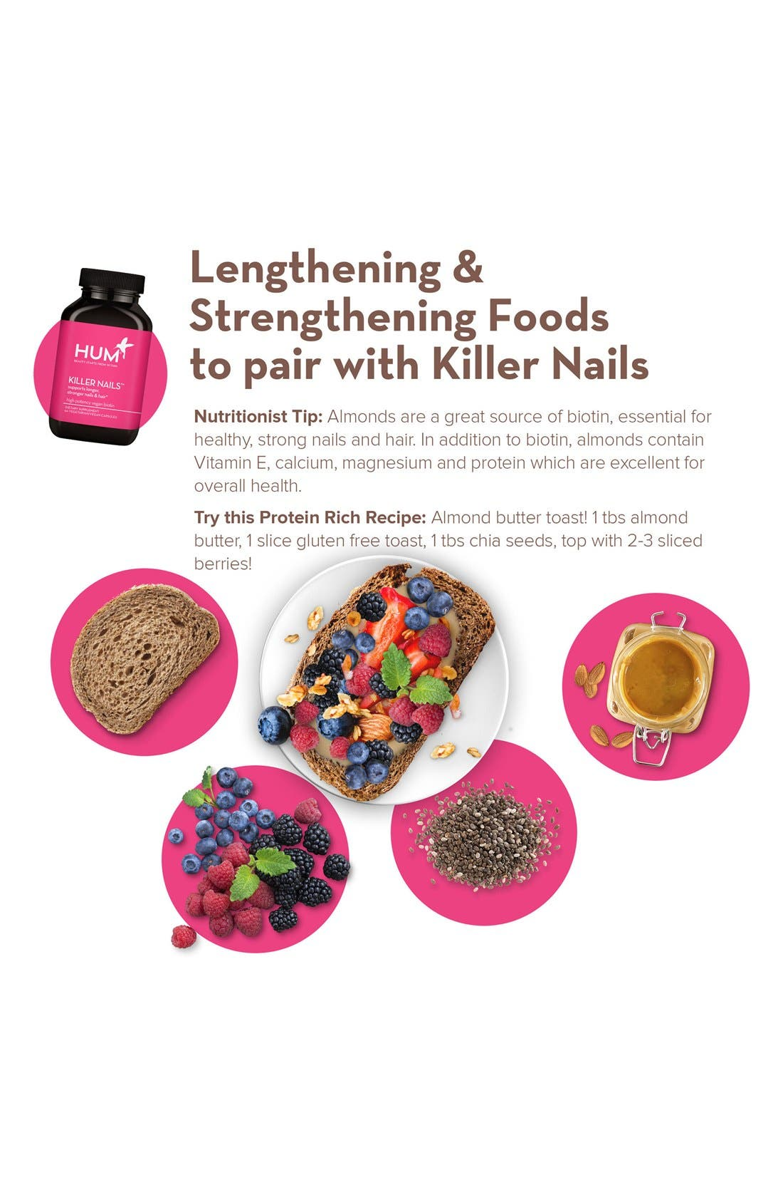 Alternate Image 2  - Hum Nutrition Killer Nails Capsules