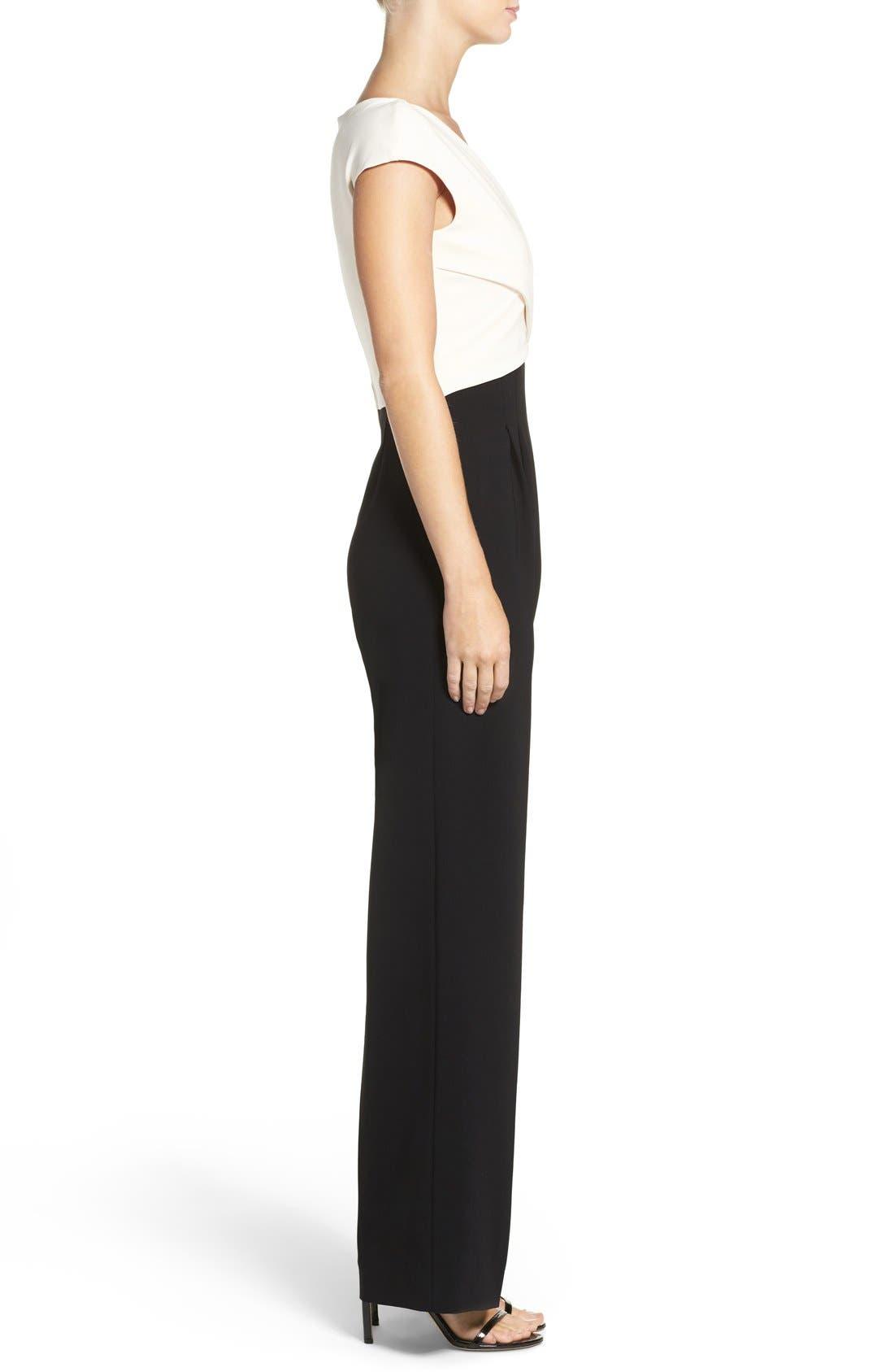 Alternate Image 3  - Eliza J Wide Leg Jumpsuit (Regular & Petite)