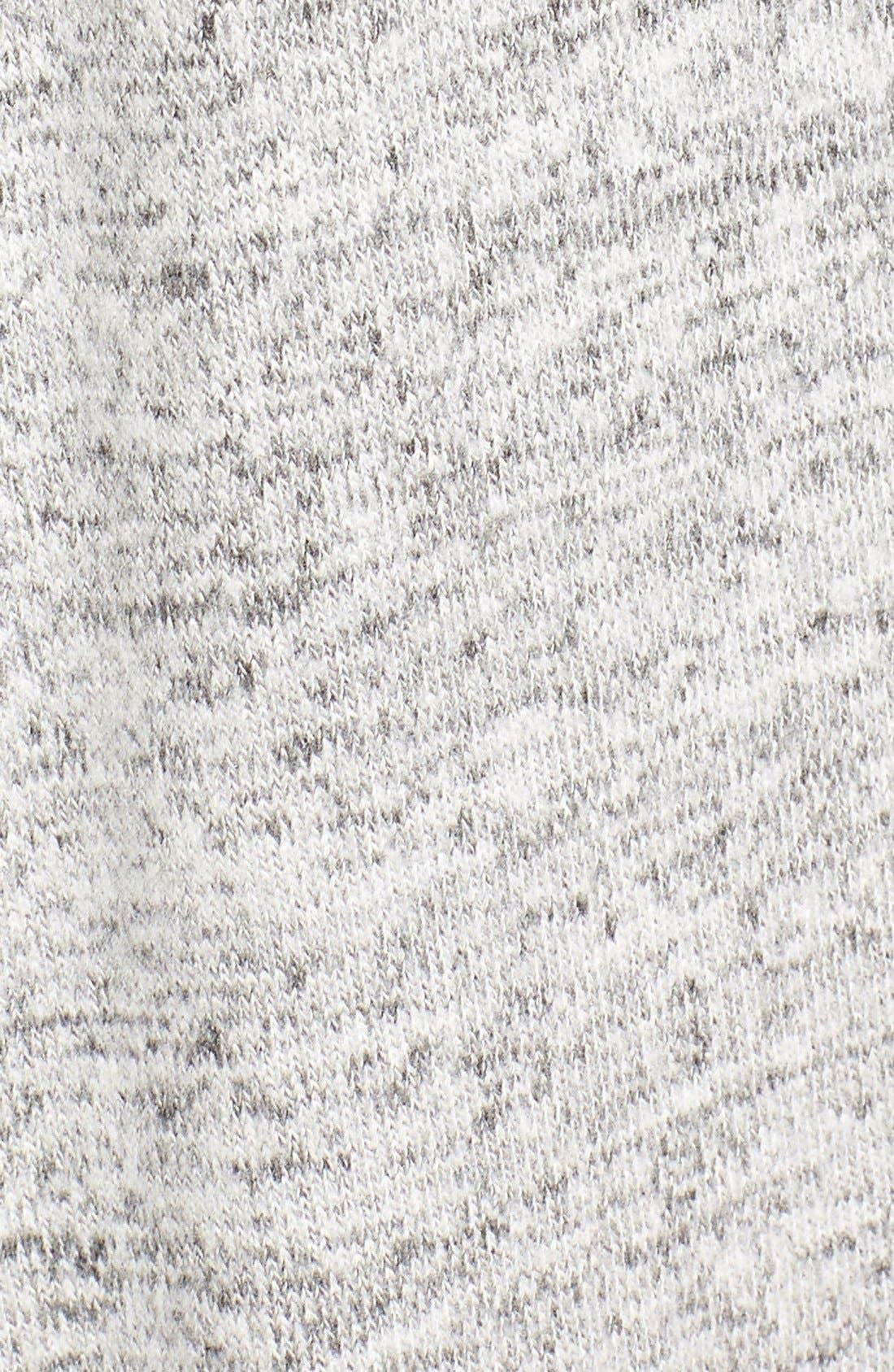 Alternate Image 5  - Pleione Hooded Side Slit Long Cardigan