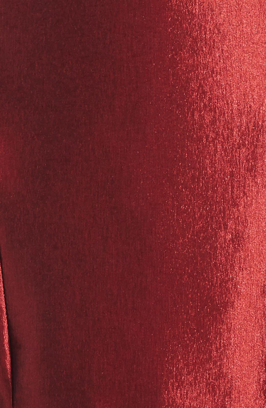 Sleeveless Skater Dress,                             Alternate thumbnail 3, color,                             Rose