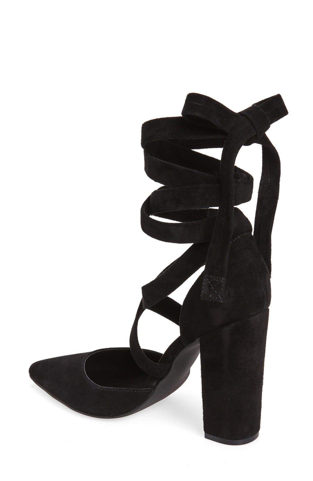 Alternate Image 2  - Steve Madden Bryony Lace-Up Pump (Women)