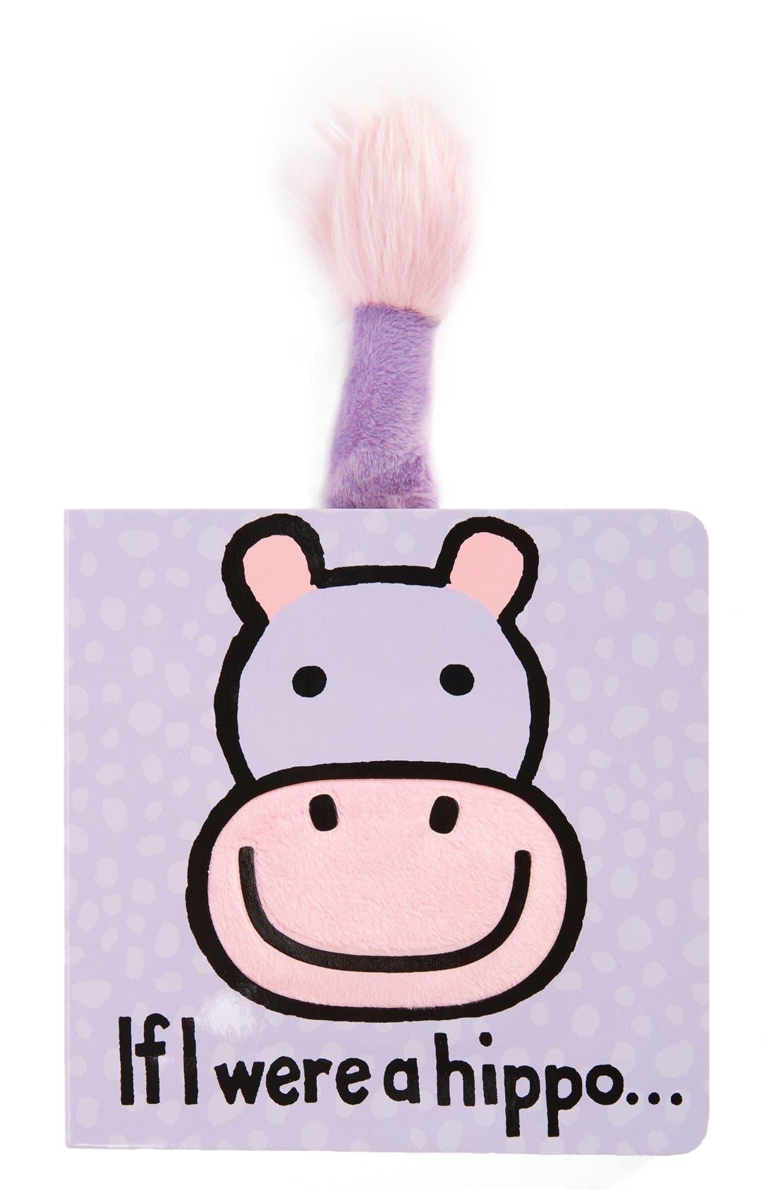 'If I Were a Hippo' Board Book,                             Main thumbnail 1, color,                             Multi