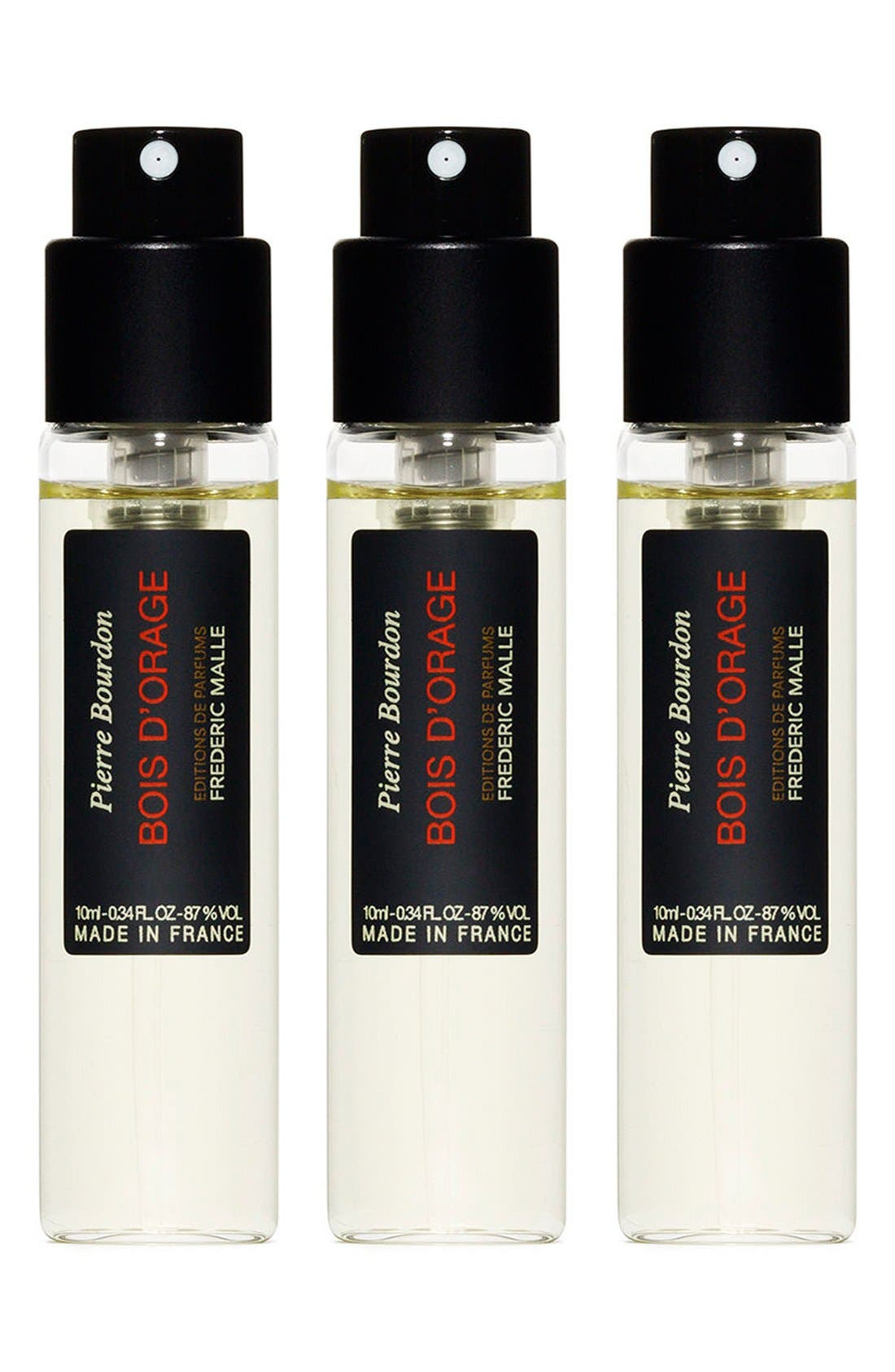 Editions de Parfums Frédéric Malle Bois d'Orange Parfum Travel Spray Trio