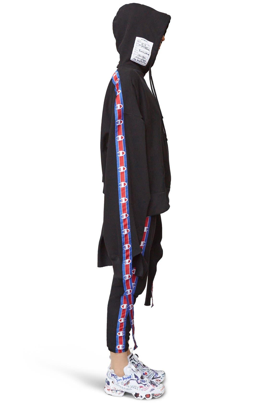 Alternate Image 4  - Vetements x Champion Taped Sweatpants