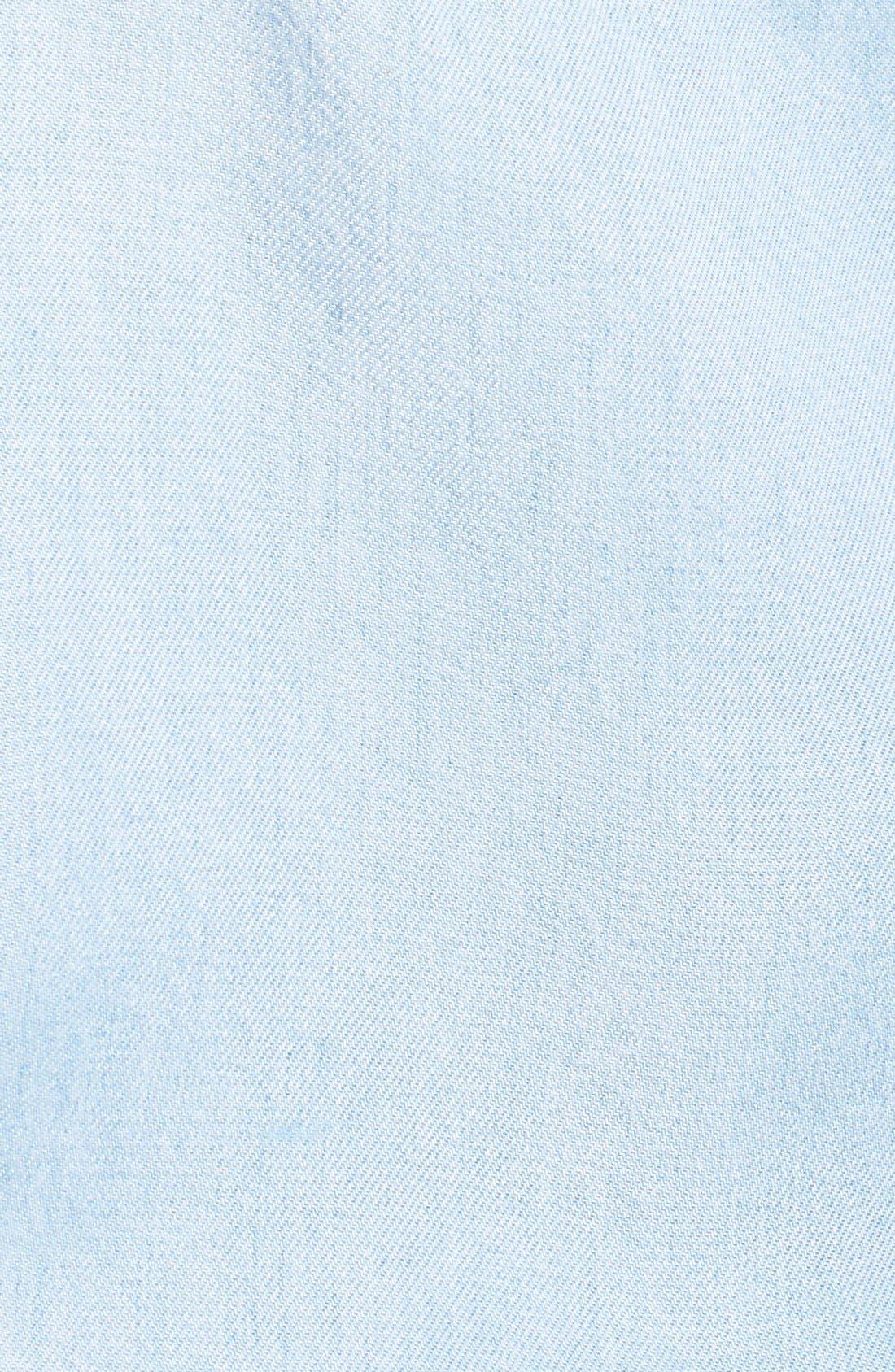 Alternate Image 5  - 7 For All Mankind® Boyfriend Chambray Shirt