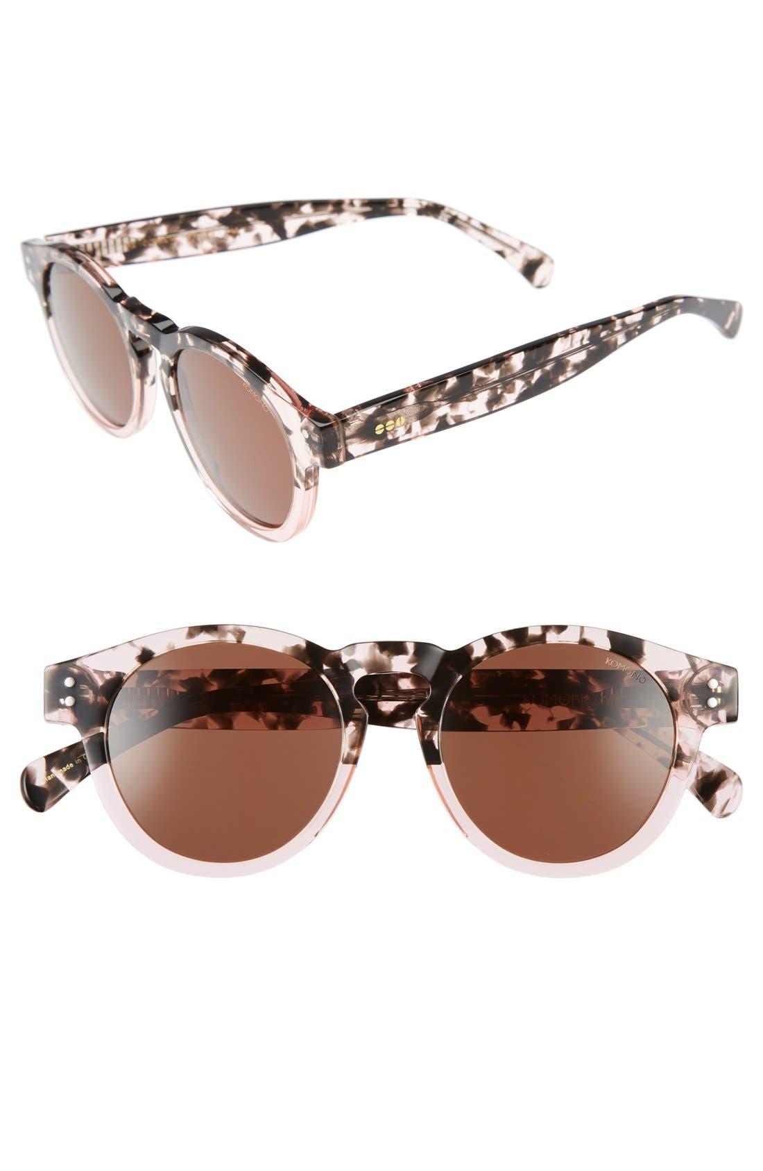 Main Image - Komono Clement 50mm Round Sunglasses