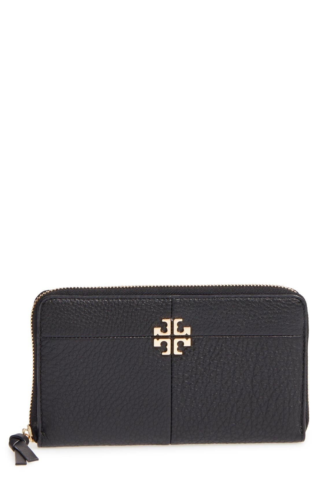 Alternate Image 1 Selected - Tory Burch Ivy Leather Continental Wallet