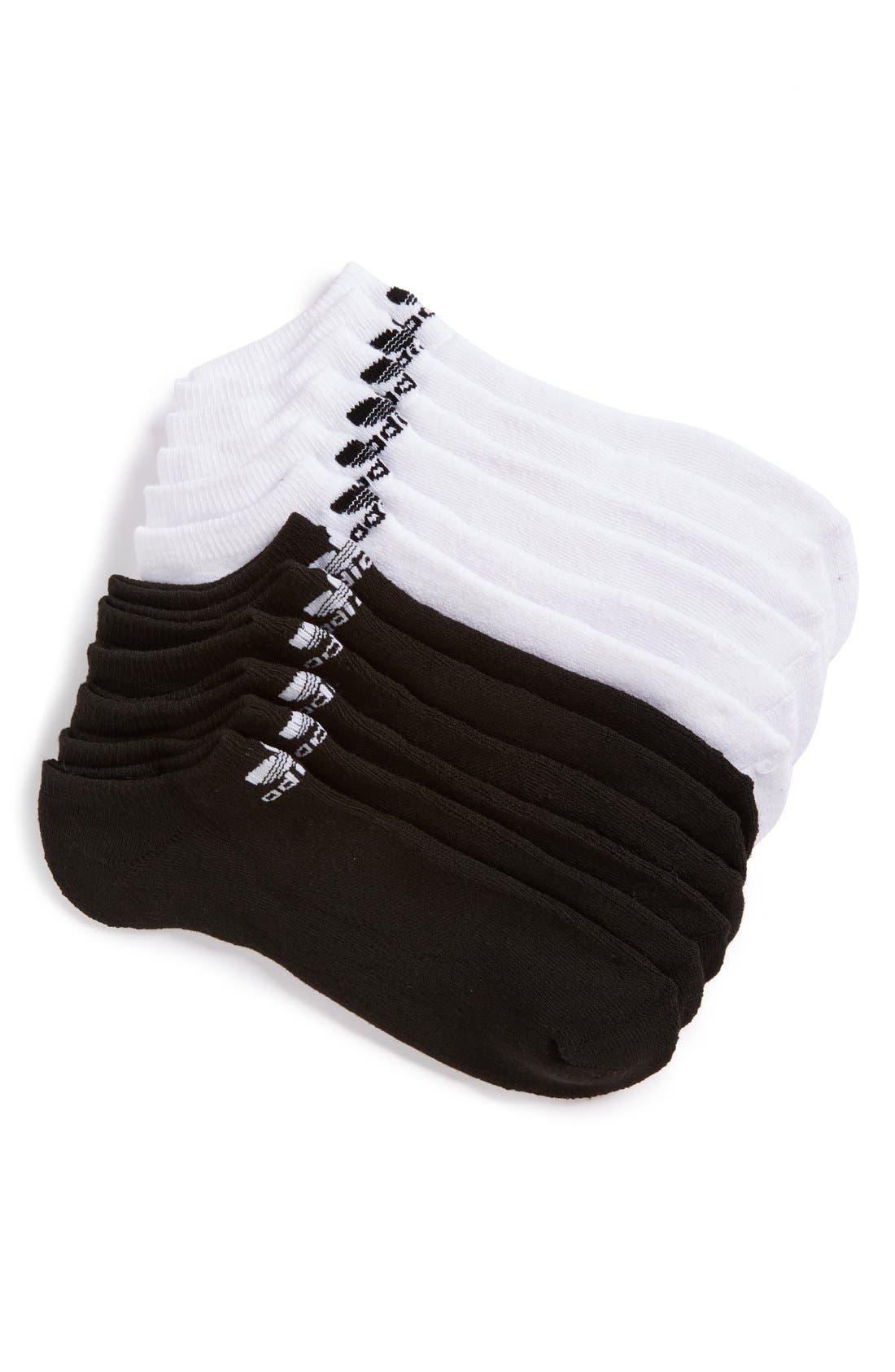 adidas 6-Pack Original Trefoil No-Show Socks
