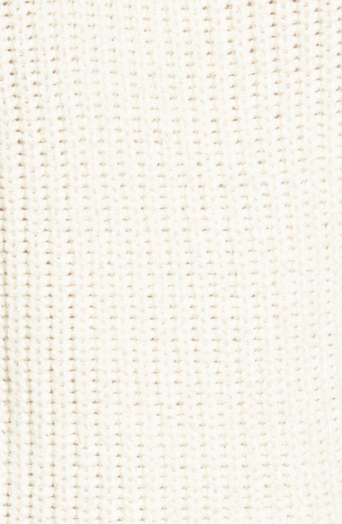 Cold Shoulder Sweater,                             Alternate thumbnail 5, color,                             Cream