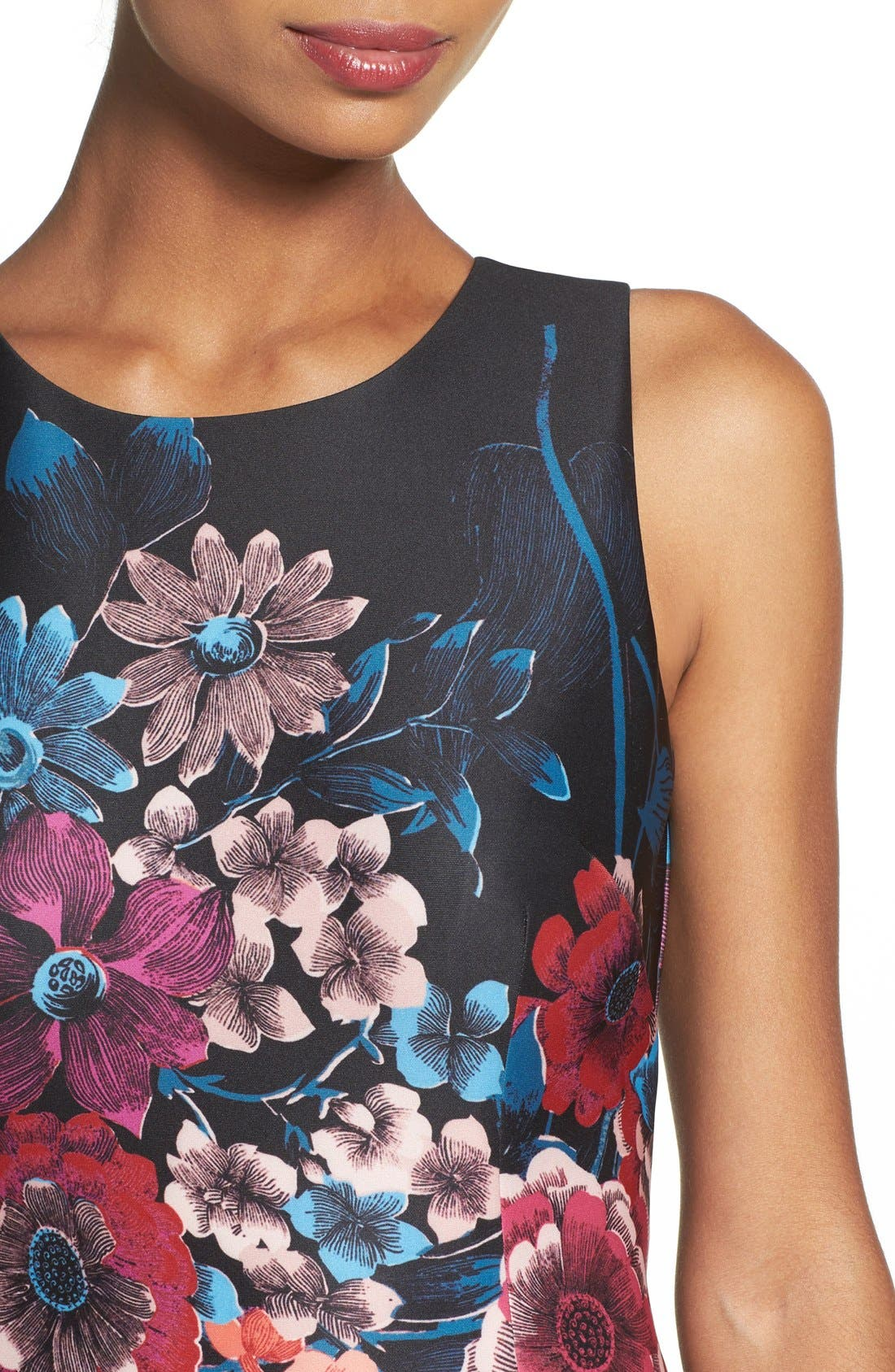 Alternate Image 4  - Adrianna Papell Scuba Midi Dress