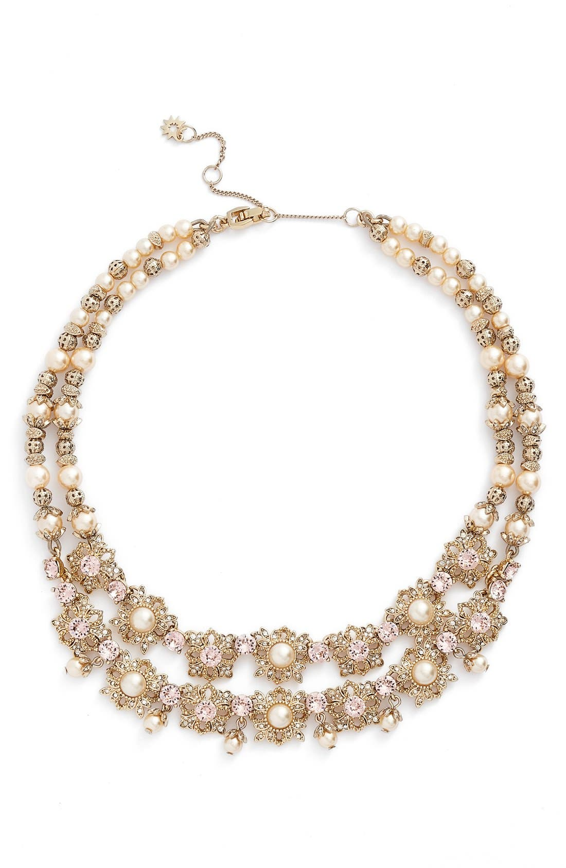 Marchesa Two Row Collar Necklace