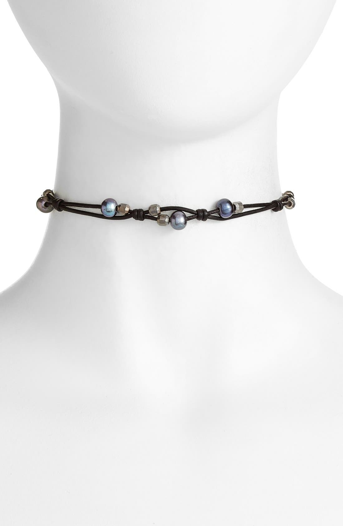 Chan Luu Pearl Choker Necklace