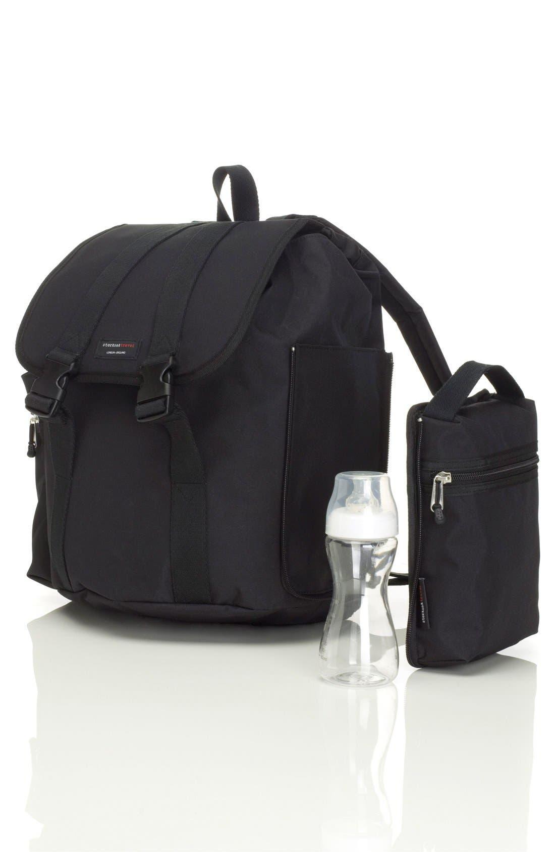 Alternate Image 3  - Storksak Travel Backpack Diaper Bag