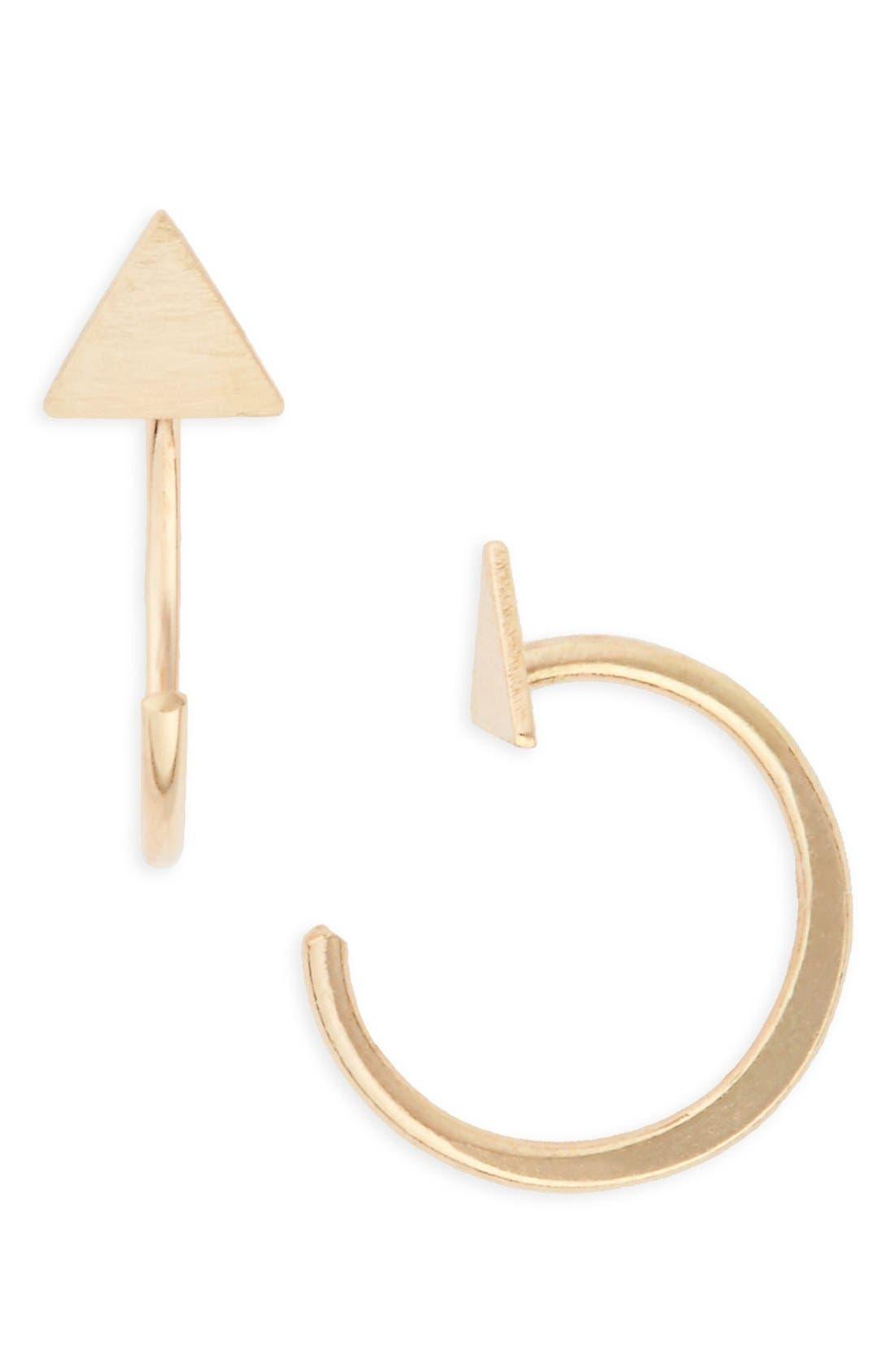 Melissa Joy Manning Open Hoop Earrings