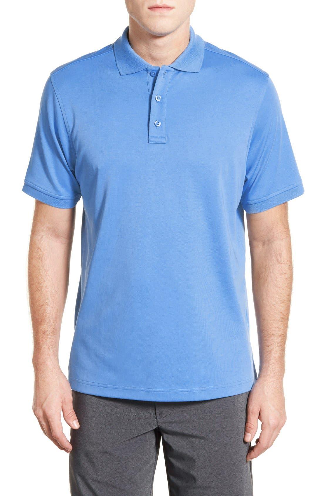 Alternate Image 1 Selected - Nordstrom Men's Shop Regular Fit Interlock Knit Polo