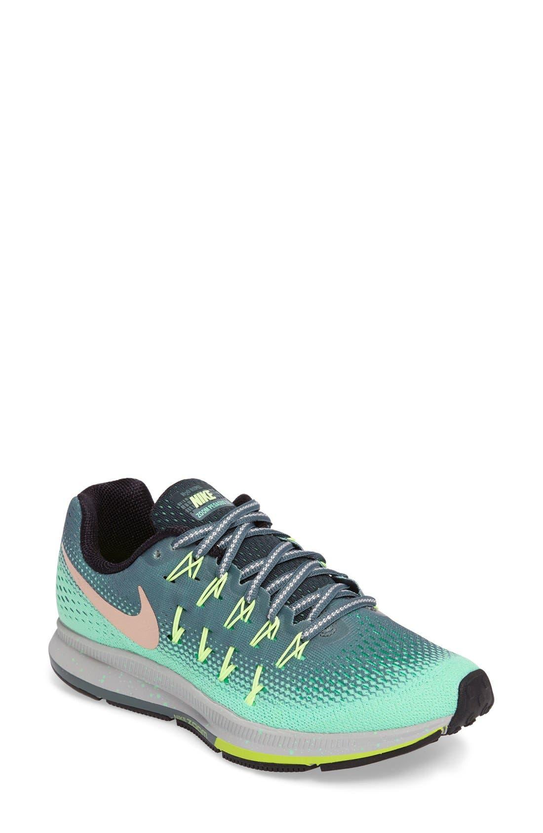 ... Main Image - Nike Air Zoom Pegasus 33 Shield Running Shoe (Women) ...