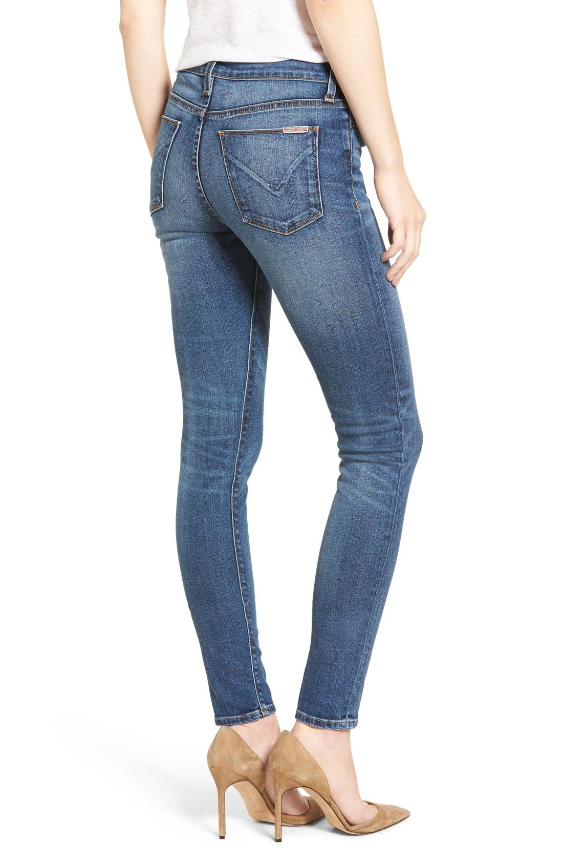 Nico Super Skinny Jeans,                             Alternate thumbnail 2, color,                             Legion