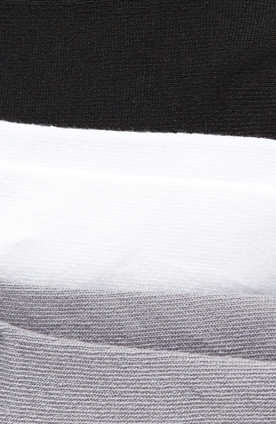 Superlite 3-Pack Socks,                             Alternate thumbnail 3, color,                             Black