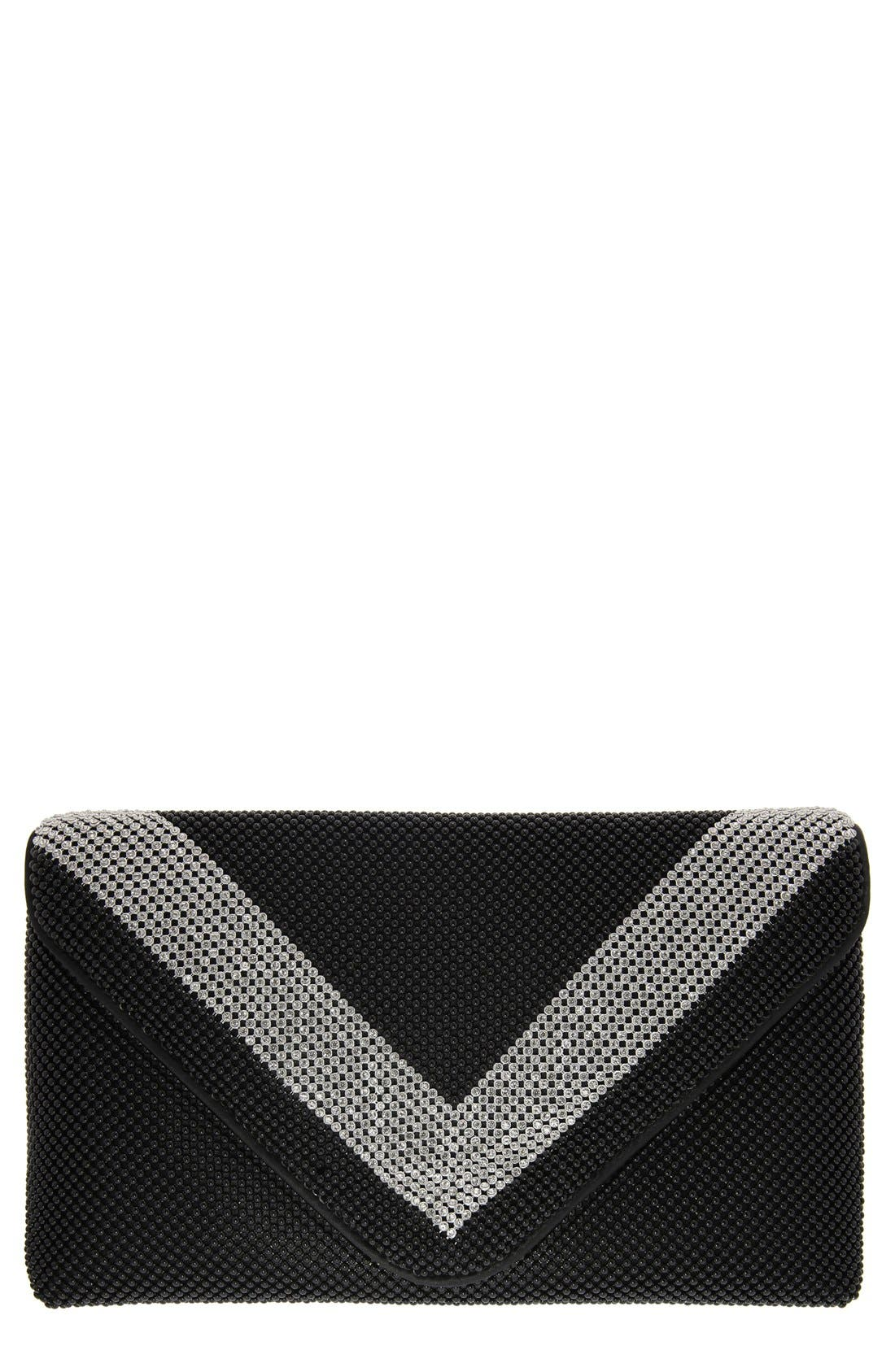 NINA Ball Kiralee Mesh Clutch