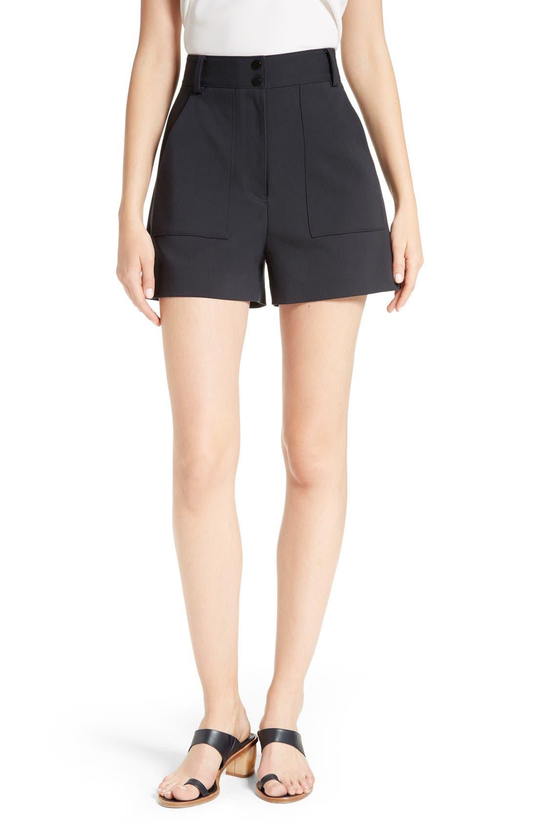 Main Image - Tibi Urban Stretch Shorts
