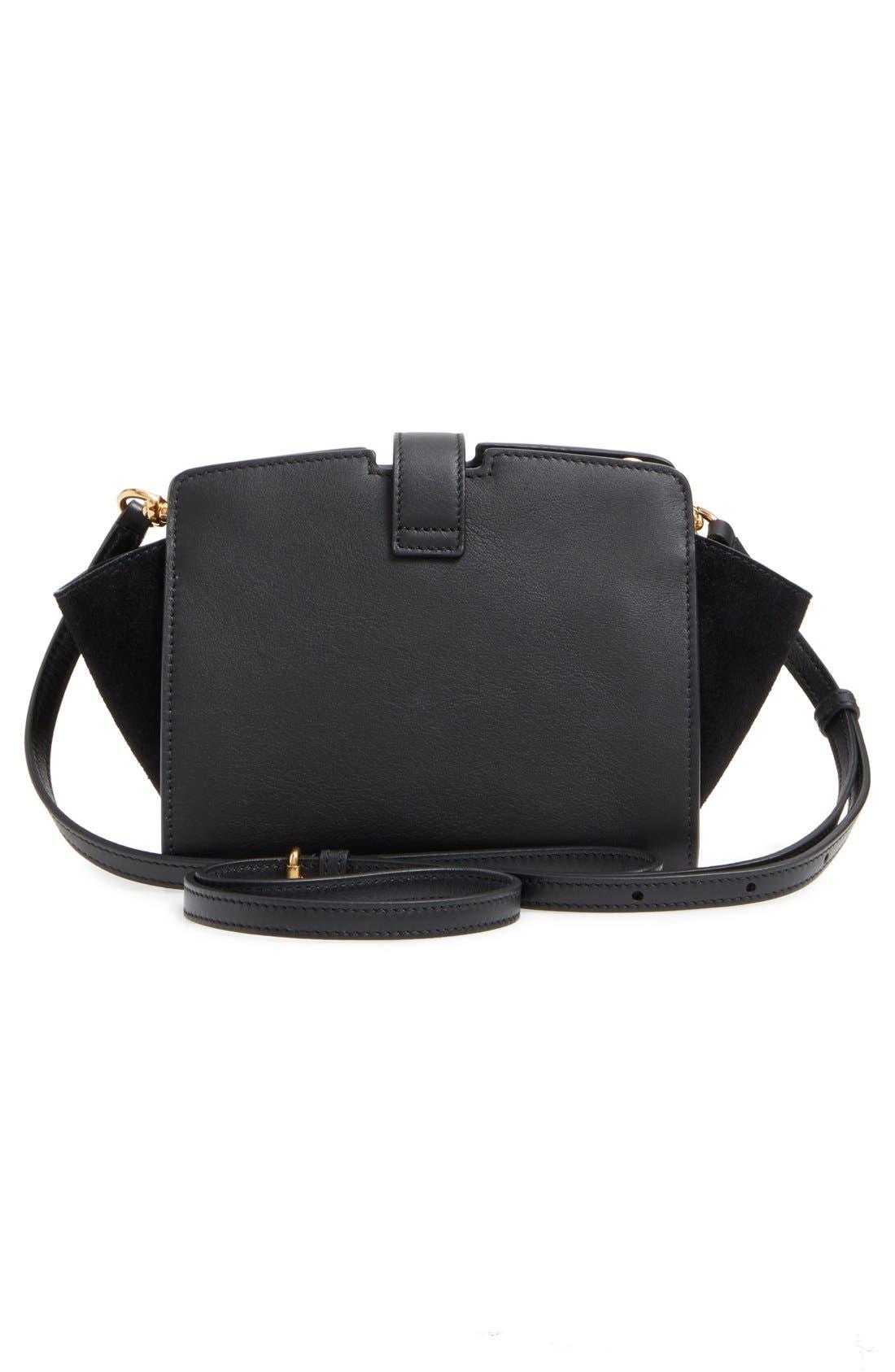 Alternate Image 3  - Saint Laurent Toy Cabas Leather Crossbody Bag