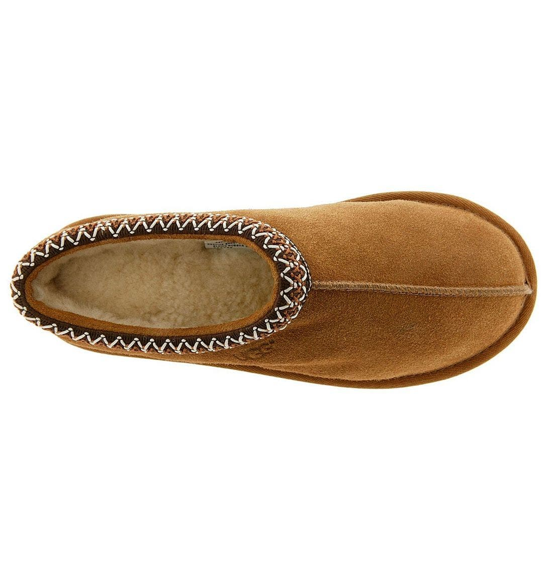 'Tasman' Slipper,                             Alternate thumbnail 3, color,                             Chestnut