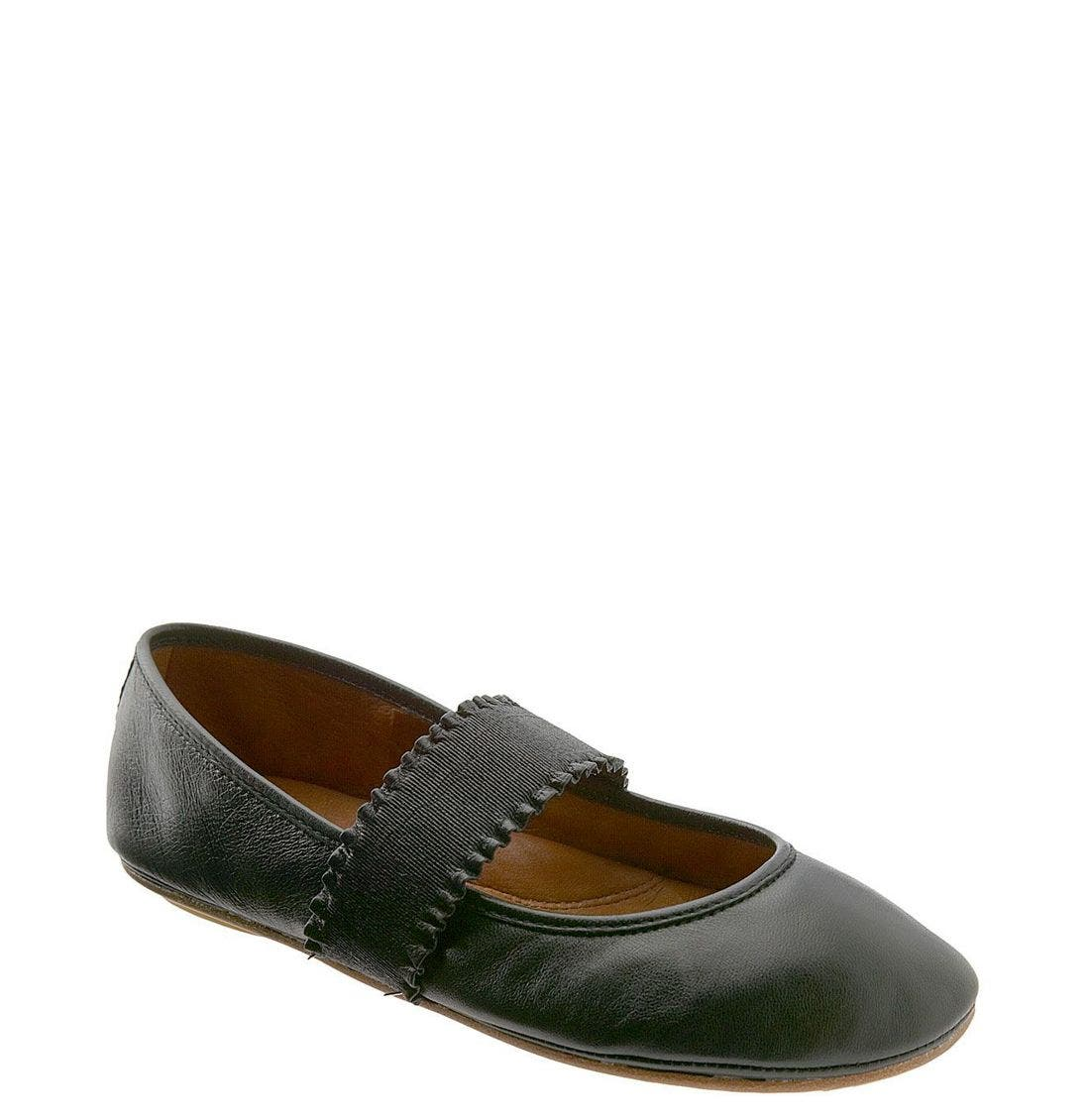 by Kenneth Cole 'Gabby' Flat,                             Main thumbnail 1, color,                             Black