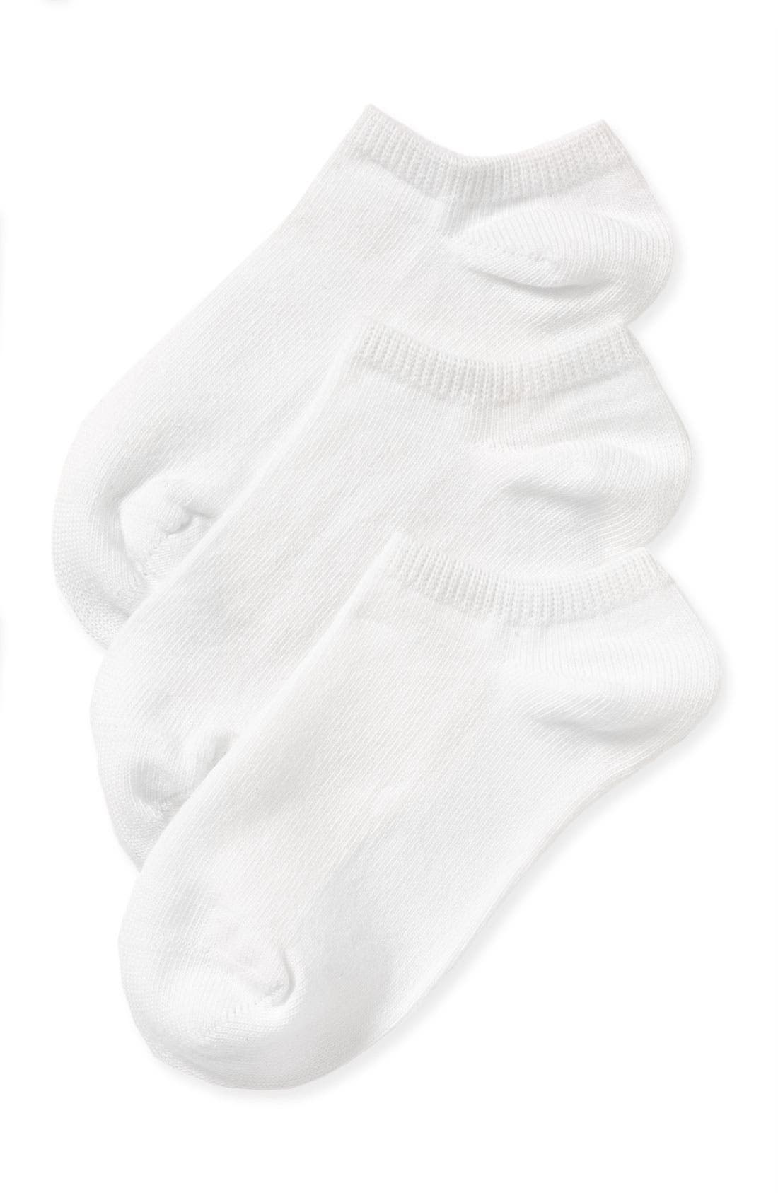 Alternate Image 1 Selected - NORDSTROM LINER SOCK 3 PACK